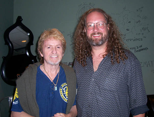 Jon Anderson with Chicago Mike Beck