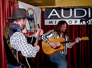 Cowboy Mike Beck and Chicago Mike Beck