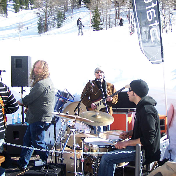 Chicago Mike, Robbie Stokes, Neal Daniels at StafelALP